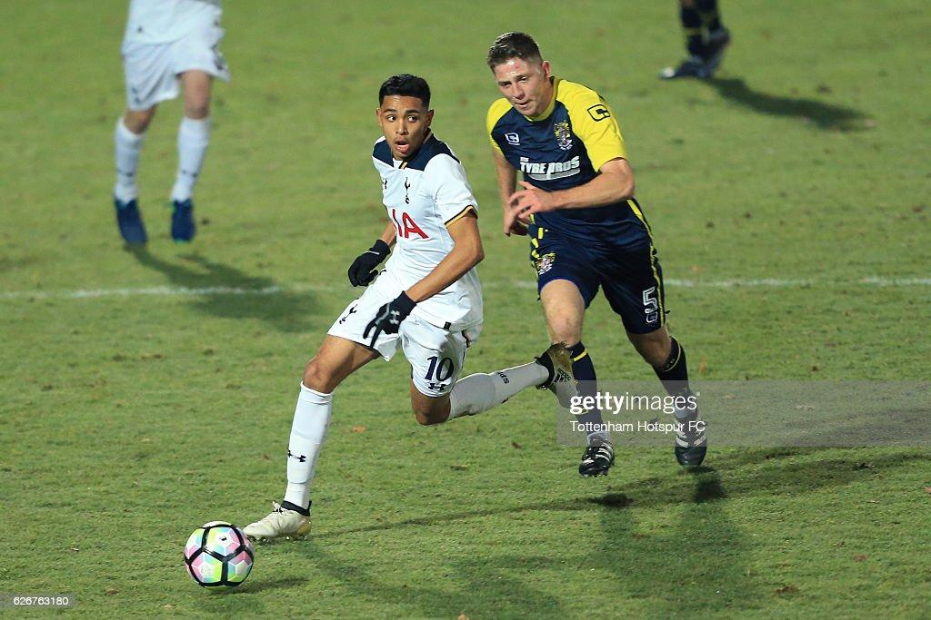 Tottenham Hotspur v Stevenage - FA Youth Cup Third Round : News Photo