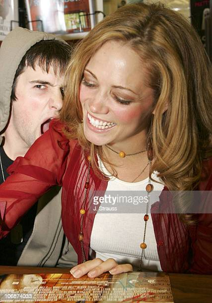 Dylan Edrington and Kodi Kitchen during '2001 Maniacs' DVD Release Party and Cast Signing at Hollywood Book Poster March 29 2006 at Hollywood Book...