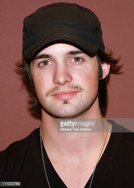 Dylan Edrington during '2001 Maniacs' Midnight Tour Kickoff Party at The Nuart in West Los Angeles California United States