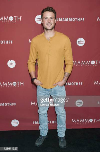 Dylan Efron arrives at 2nd Annual Mammoth Film Festival on February 07 2019 in Mammoth California