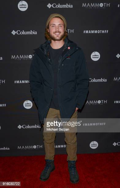 Dylan Efron attends Mammoth Film Festival on February 8 2018 in Mammoth Lakes California