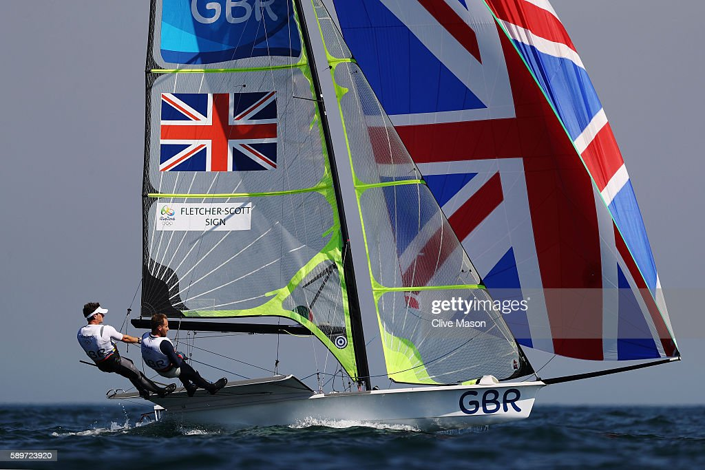 Sailing - Olympics: Day 10 : News Photo