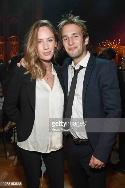 Dylan Frances Penn and Hopper Jack Penn attend the Sean Penn CORE Gala benefiting the organization formerly known as J/P HRO its lifesaving work...