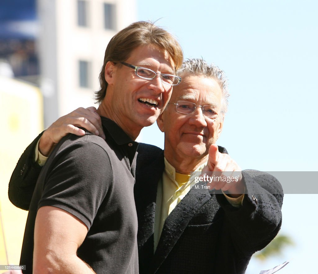 Dylan Graham nephew of Jim Morrison with Ray Manzarek of The Doors  sc 1 st  Getty Images & The Doors Celebrate 40th Anniversary with Star on the Hollywood ... pezcame.com