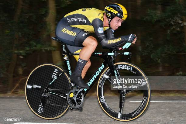 Dylan Groenewegen of Netherlands and Team Lotto Nl - Jumbo / during the 14th BinckBank Tour 2018, Stage 2 a 12,7km Individual Time Trial stage from...