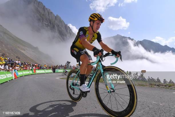 Dylan Groenewegen of The Netherlands and Team Jumbo-Visma / Col de Tourmalet / Mountains / Fans / Public / during the 106th Tour de France 2019,...