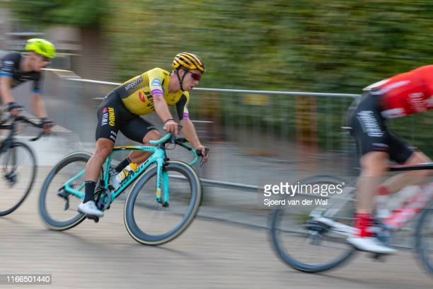 Dylan Groenewegen of The Netherlands and Team JumboVisma during the 2019 Spektakel van Steenwijk on August 6 2019 in SteenwijkNetherlands