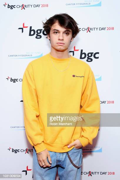 Dylan Jagger Lee attends Annual Charity Day hosted by Cantor Fitzgerald BGC and GFI at BGC Partners INC on September 11 2018 in New York City