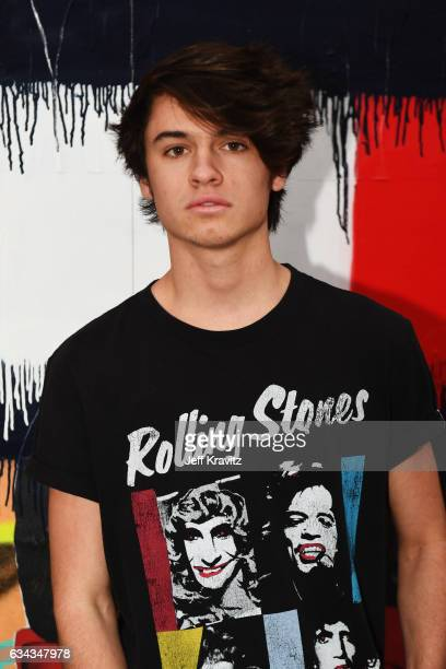 Dylan Jagger Lee attends the TommyLand Tommy Hilfiger Spring 2017 Fashion Show on February 8 2017 in Venice California