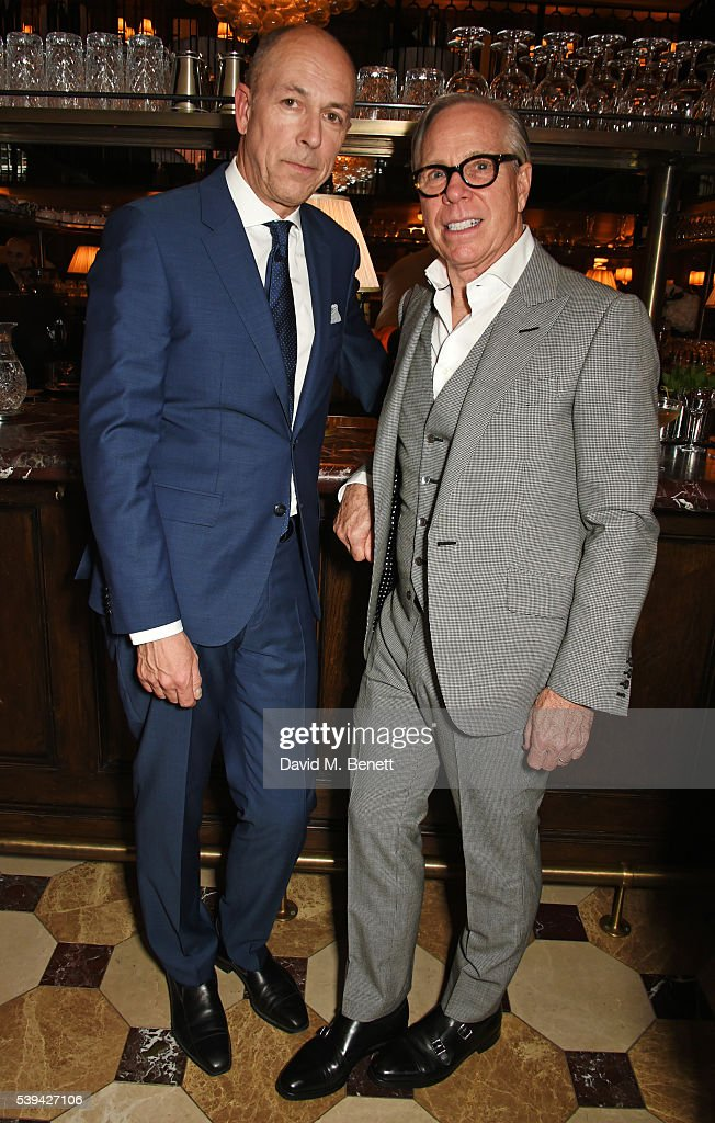 London Collections Men: Tommy Hilfiger & Dylan Jones Dinner