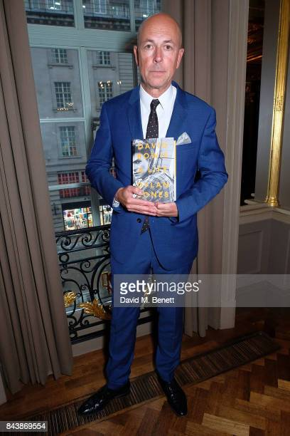 Dylan Jones attends the launch of new book 'David Bowie A Life' at the Hotel Cafe Royal on September 7 2017 in London England
