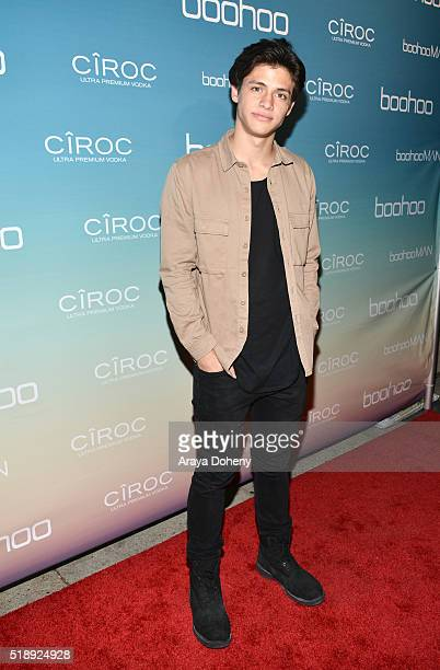Dylan Jordan attends the boohoocom Flagship LA Pop Up Store with opening party fueled by CIROC UltraPremium Vodka on April 1 2016 in Los Angeles...