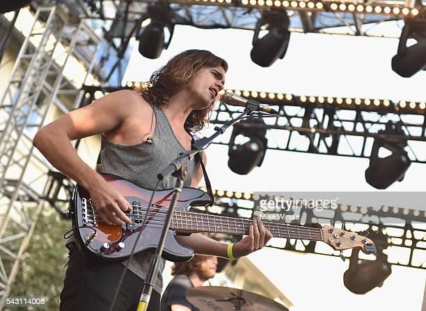 Dylan Kongos of KONGOS performs onstage at EpicFest 2016 hosted by LA Reid and Epic Records at Sony Studios on June 25 2016 in Los Angeles California