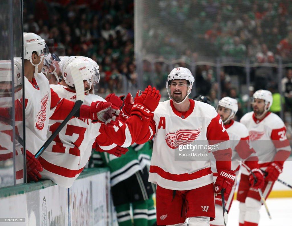 Detroit Red Wings v Dallas Stars : News Photo