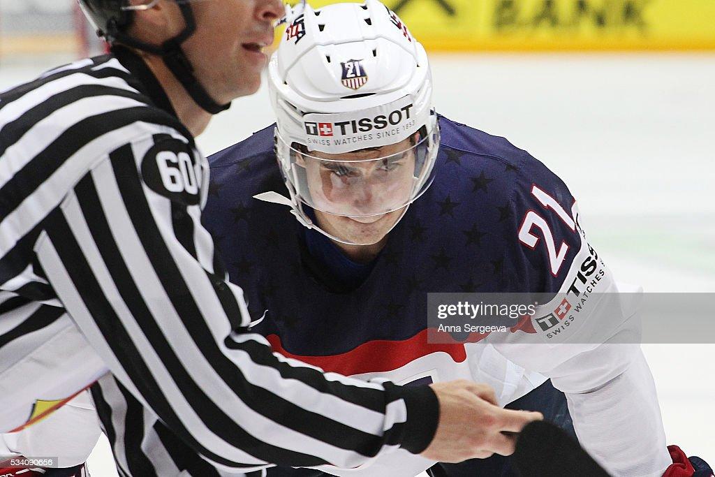 Russia v USA - 2016 IIHF World Championship Ice Hockey: Bronze Medal Game : News Photo