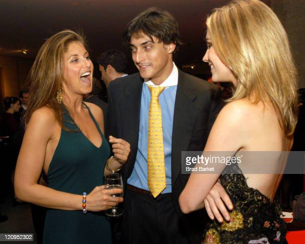 Dylan Lauren Adam Shugar and Amanda Hearst are seen after Lincoln Center's Winter Gala at Alice Tully Hall in New York