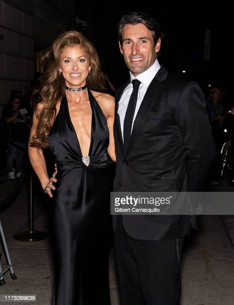 Dylan Lauren and Paul Arrouet are seen arriving to Ralph Lauren Fashion Show during New York Fashion Week at Ralph's Club on September 07 2019 in New...