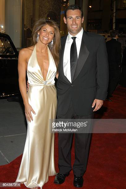 Dylan Lauren and Paul Arrouet attend CHRISTIE'S BLACK and WHITE BALL To Celebrate The Plaza Hotel Auction at Christie's on March 14 2006 in New York...