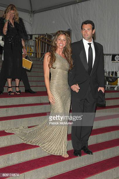 Dylan Lauren and Paul Arrouet attend The COSTUME INSTITUTE Gala in honor of POIRET KING OF FASHION at The Metropolitan Museum of Art on May 7 2007 in...