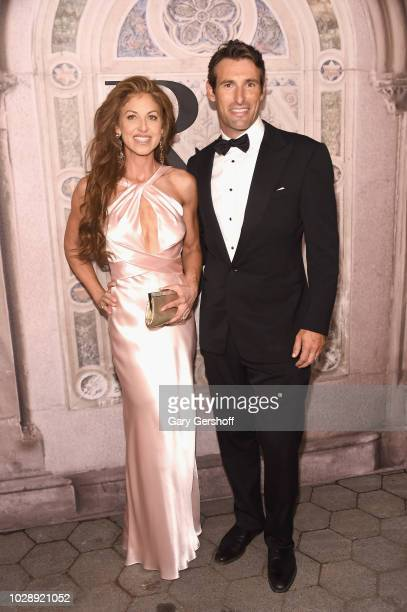 Dylan Lauren and Paul Arrouet attend the Ralph Lauren 50th Anniversary event during New York Fashion Week at Bethesda Terrace on September 7 2018 in...