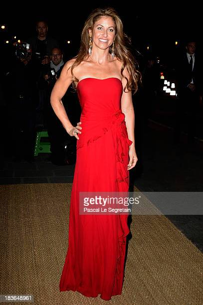 Dylan Lauren arrives at a Ralph Lauren Collection Show and private dinner at Les BeauxArts de Paris on October 8 2013 in Paris France On this...