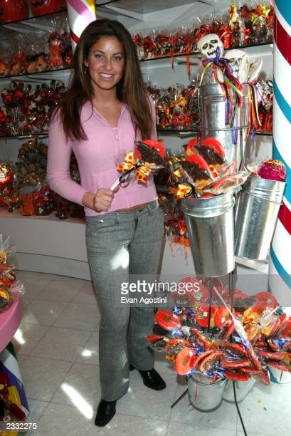 Dylan Lauren at a Halloween party to benefit New York Weill Cornell Medical Center's Big Apple Circus Clown Care Unit at Dylan's Candy Bar in New...