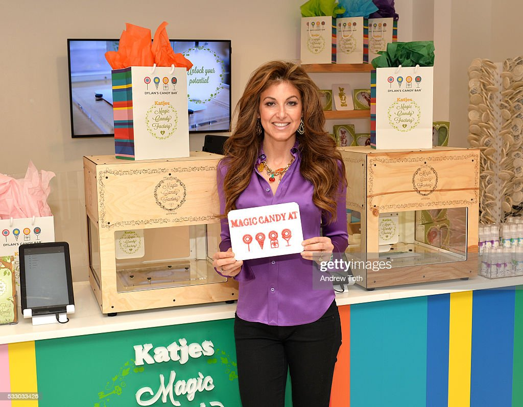 Dylan Lauren attends Dylan's Candy Bar exclusively launches first 3D printed candy in the U.S. with Katjes Magic Candy Factory on May 19, 2016 in New York, New York.