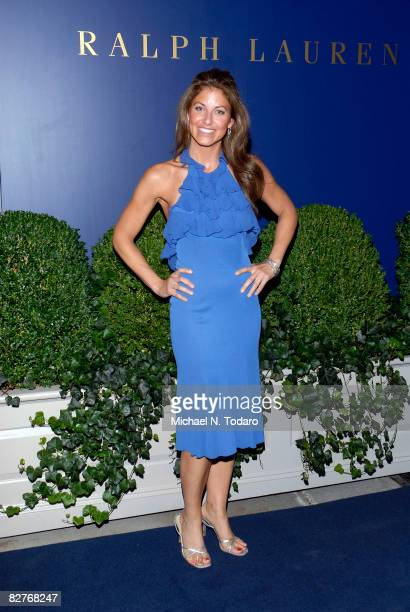 Dylan Lauren attends the Lebron James Family Foundation Benefit for an evening of cocktails and private shopping at the Ralph Lauren Mansion on...