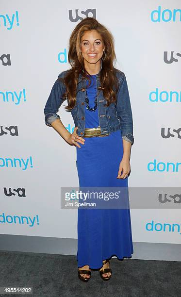 Dylan Lauren attends the USA Network hosts the premiere of Donny at The Rainbow Room on November 3 2015 in New York City