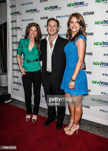 Dylan Lauren Brett Reizen and Maria Menounos attends the NewYorkcom Launch Party at Arena on May 29 2013 in New York City