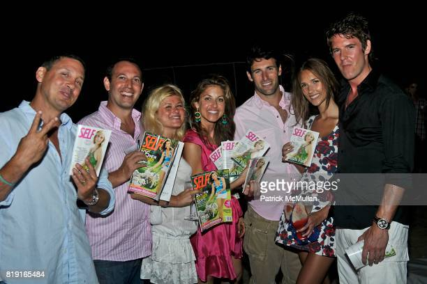Dylan Lauren Paul Arrouet and attend Celebrating Dylan Lauren as new contributing editor to Self Magazine on July 17 2010 in Montauk NY