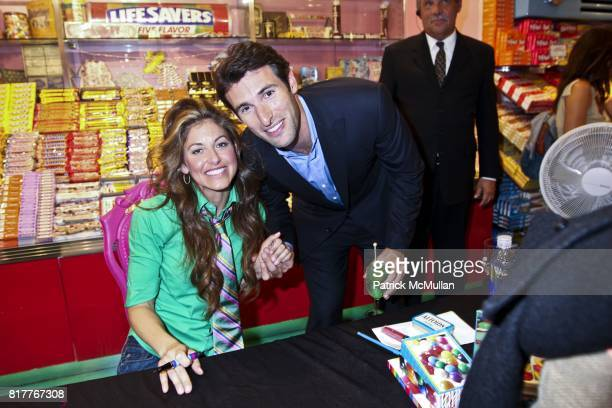Dylan Lauren Paul Arrouet attend DYLAN LAUREN'S Book Launch Party at Dylan's Candy Bar on October 05 2010 in New York City