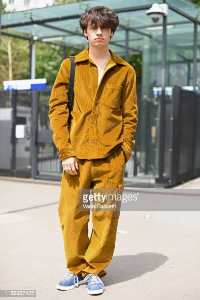 Dylan Lee attends the Acne Studios Menswear Spring Summer 2020 show as part of Paris Fashion Week on June 19 2019 in Paris France