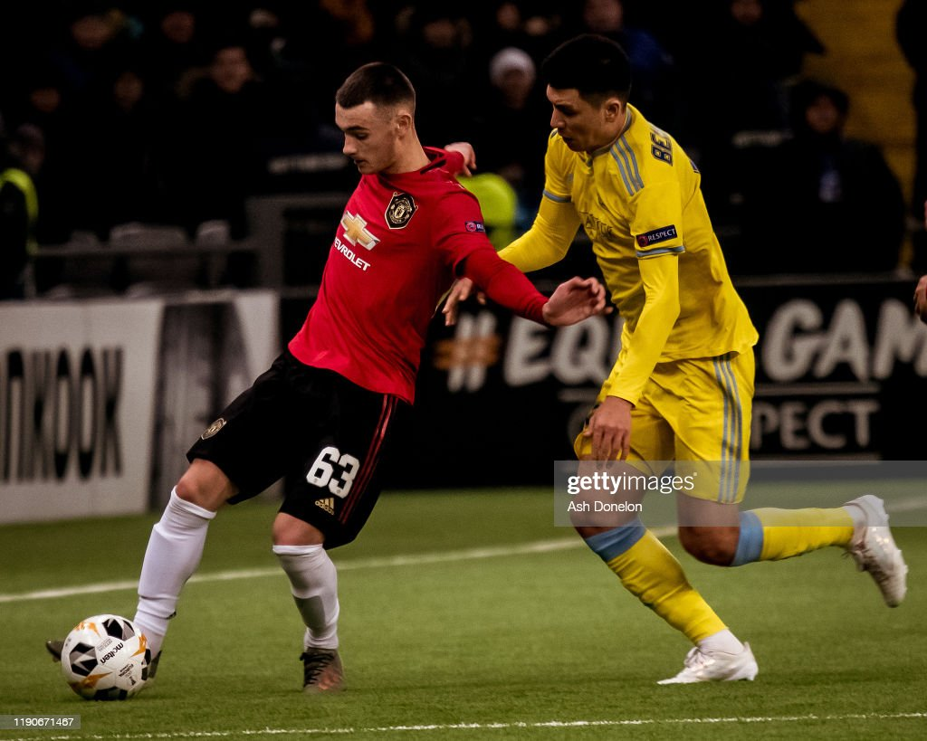 FK Astana v Manchester United: Group L - UEFA Europa League : News Photo