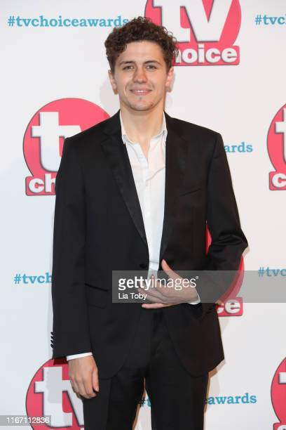 Dylan Llewellyn attends The TV Choice Awards 2019 at Hilton Park Lane on September 9 2019 in London England