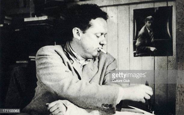 Dylan Marlais Thomas Welsh poet and writer 19141953 Work includes Under Milk Wood