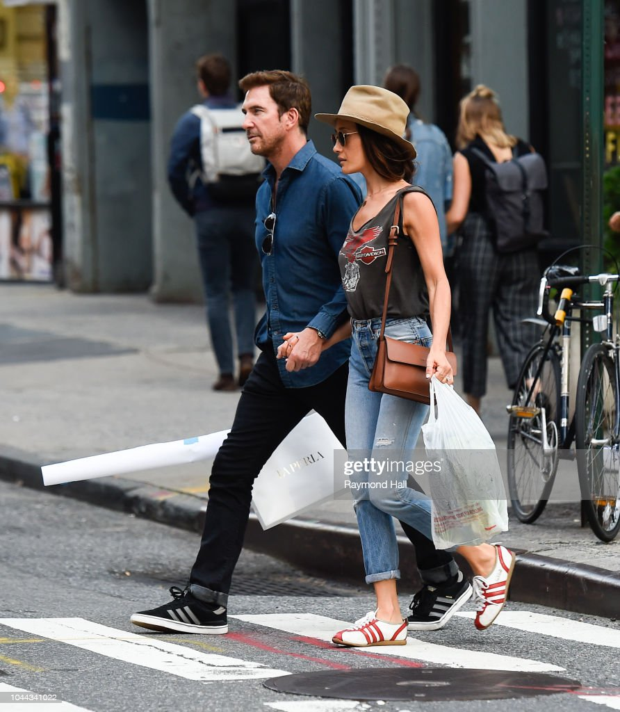 Celebrity Sightings in New York City - October 1, 2018 : ニュース写真