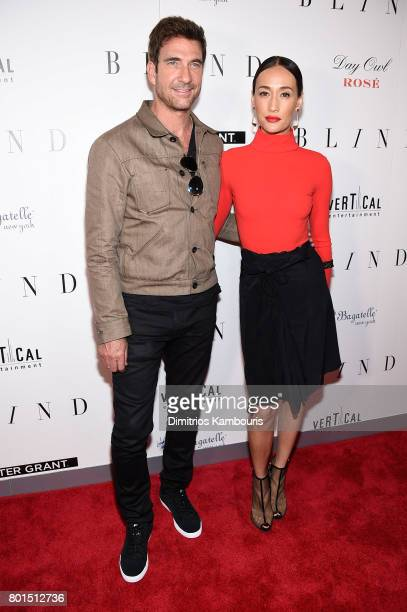 Dylan McDermott and Maggie Q attend the Blind premiere at Landmark Sunshine Cinema on June 26 2017 in New York City