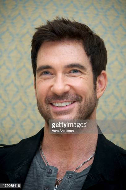 Dylan McDermott at the Hostages Press Conference at the Four Seasons Hotel Los Angeles on July 30 2013 in Beverly Hills California