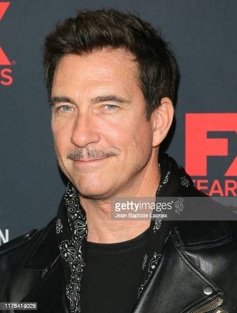 Dylan McDermott attends FX's American Horror Story 100th Episode Celebration at Hollywood Forever on October 26 2019 in Hollywood California