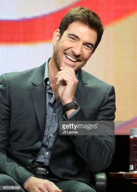 Dylan McDermott attends the 2014 Summer Television Critics Association at The Beverly Hilton Hotel on July 17 2014 in Beverly Hills California