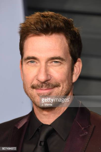 Dylan McDermott attends the 2018 Vanity Fair Oscar Party hosted by Radhika Jones at the Wallis Annenberg Center for the Performing Arts on March 4...