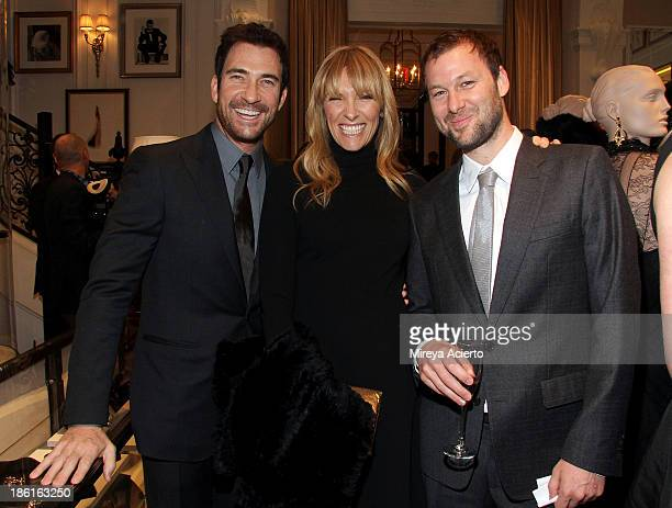 Dylan McDermott, Toni Collette and Dave Galafassi attend Ralph Lauren Presents Exclusive Screening Of Hitchcock's To Catch A Thief Celebrating The...