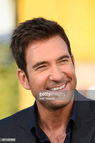 Dylan McDermott visits 'Extra' at Universal Studios Hollywood on January 13 2015 in Universal City California