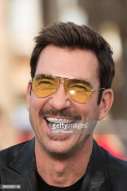 Dylan McDermott visits 'Extra' at Universal Studios Hollywood on December 18 2017 in Universal City California