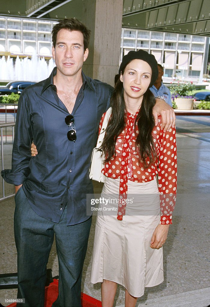 Dylan McDermott & Wife Shiva Rose during 'Thomas and the Magic Railroad' Premiere at Cineplex Odeon Century Plaza Cinema in Century City, California, United States.