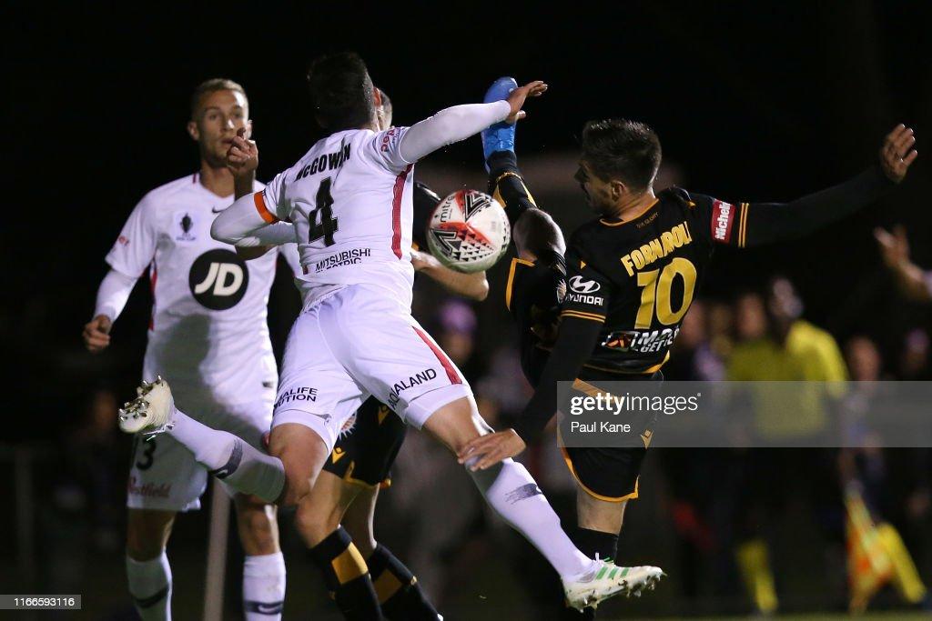FFA Cup Rd of 32 - Perth Glory v Western Sydney Wanderers FC : News Photo