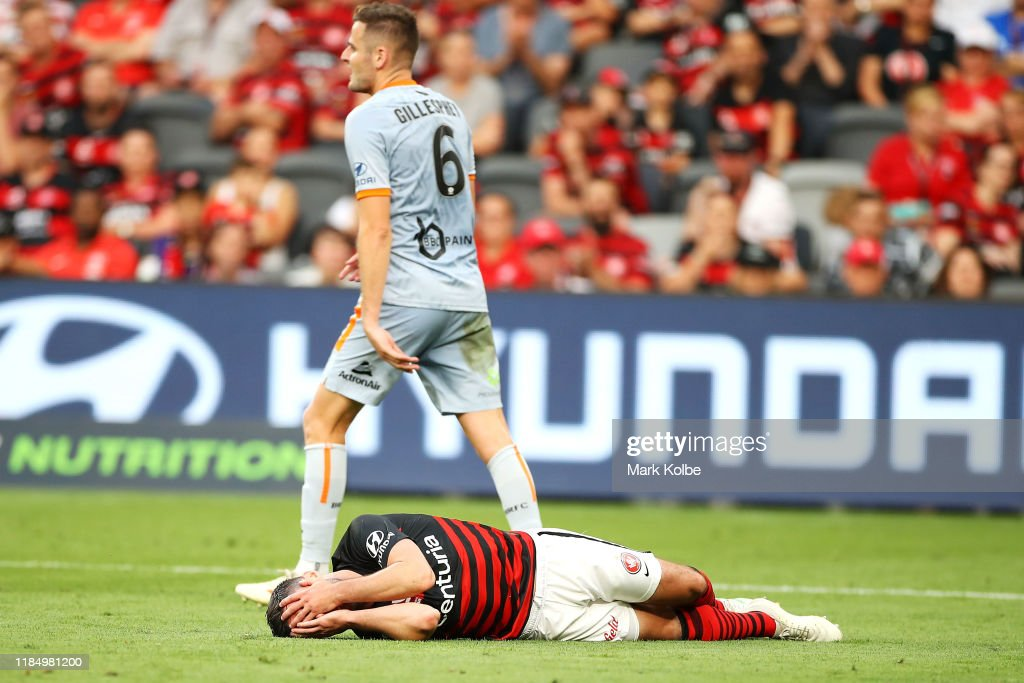 A-League Rd 4 - Western Sydney v Brisbane : News Photo