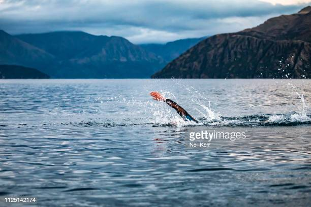Dylan McNeice of AUS competes during 2019 Challenge Wanaka on February 16 2019 in Wanaka New Zealand