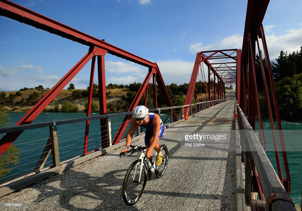 Dylan McNeice of New Zealand competes in the Challenge Wanaka on January 19, 2013 in Wanaka, New Zealand.